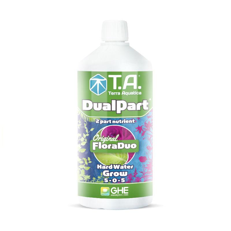 DualPart Grow HW 1 L Terra Aquatica (GHE) (для жесткой воды)