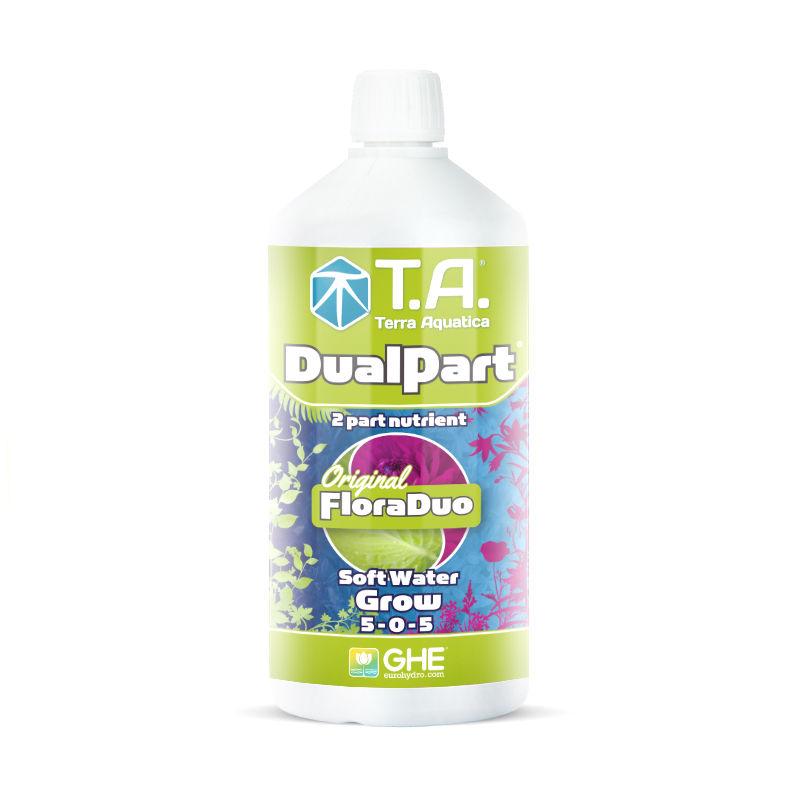 DualPart Grow SW 1 L Terra Aquatica (GHE) (для мягкой воды)