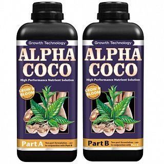 Двухкомпонентное удобрение Alpha Coco