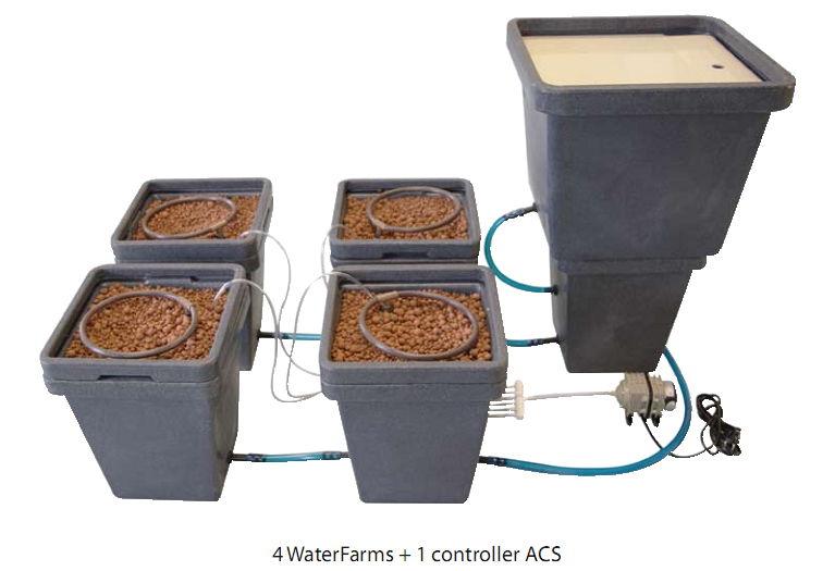 Гидропонная система WaterPack ACS HW GHE