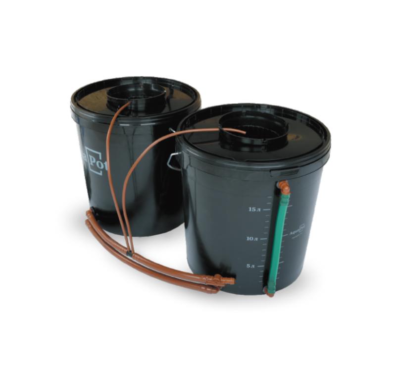 Гидропонная установка AquaPot Duo (без компрессора)