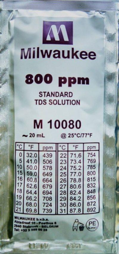 Калибровочный раствор 800 ppm 20 ml Milwaukee