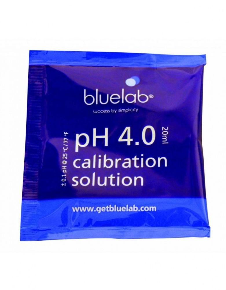 Калибровочный раствор pH 4.0 20 мл BlueLab