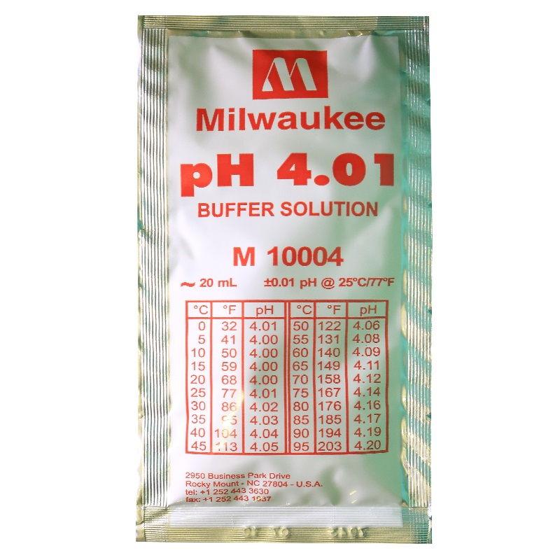 Калибровочный раствор pH 4.01 20 ml Milwaukee
