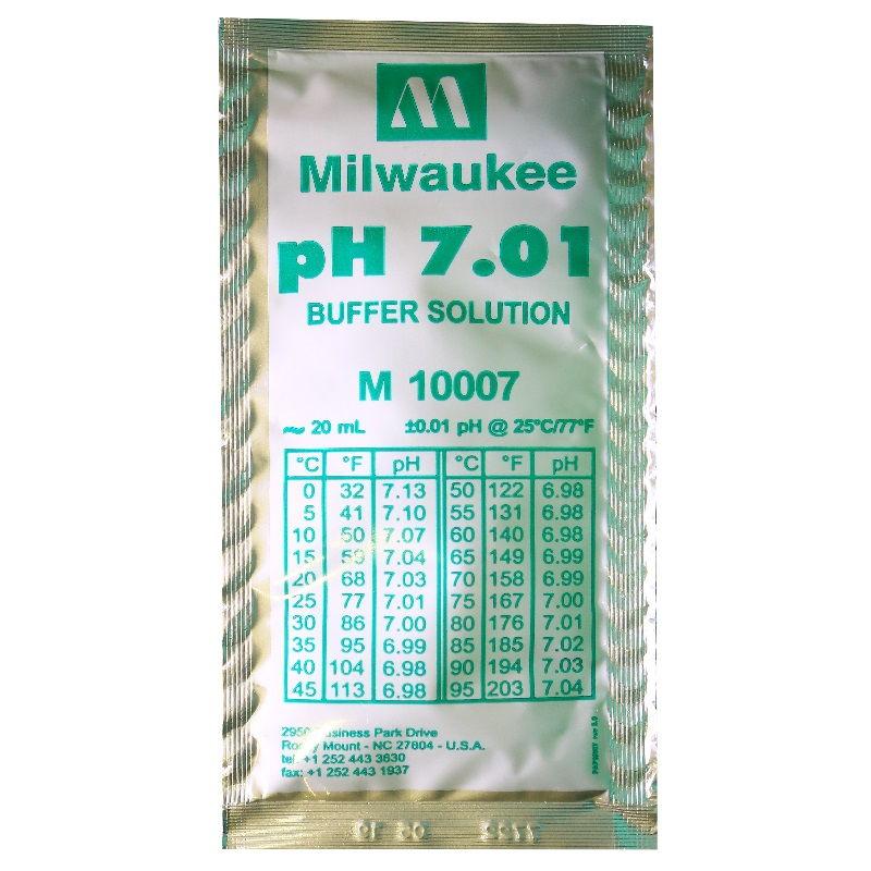 Калибровочный раствор pH 7.01 20 ml Milwaukee