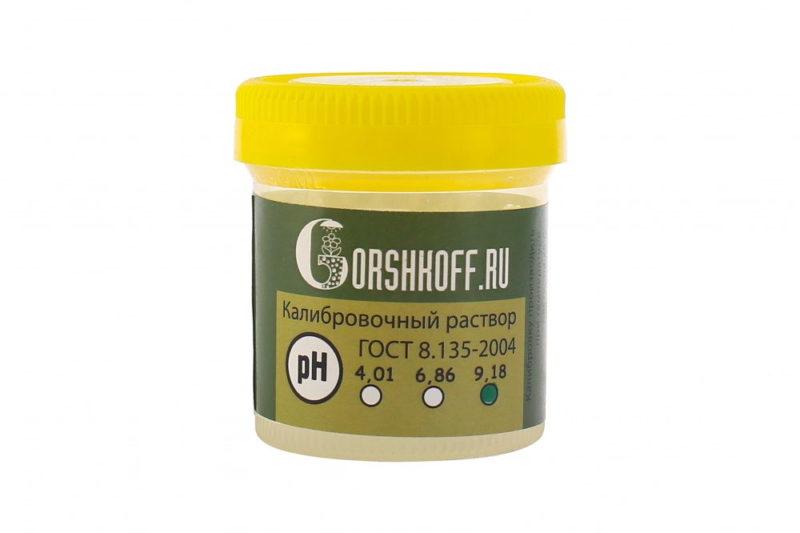 Калибровочный раствор pH 9.18 Rastea