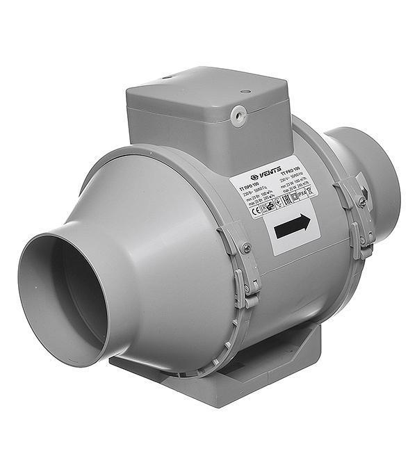 Канальный вентилятор VENTS ТТ ПРО100 (180-245м3/ч)