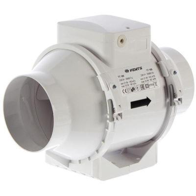 Канальный вентилятор VENTS ТТ100 (145-187м3/ч)