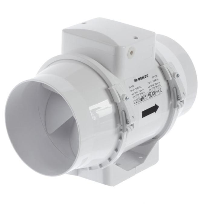 Канальный вентилятор VENTS ТТ125 (220-280м3/ч)