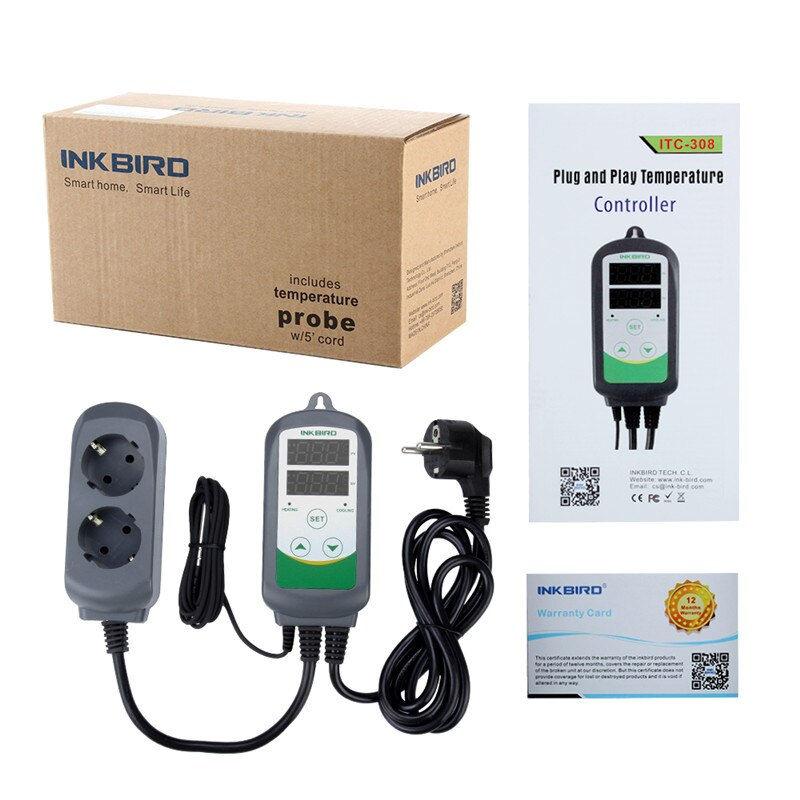 Контроллер температуры Inkbird ITC-308