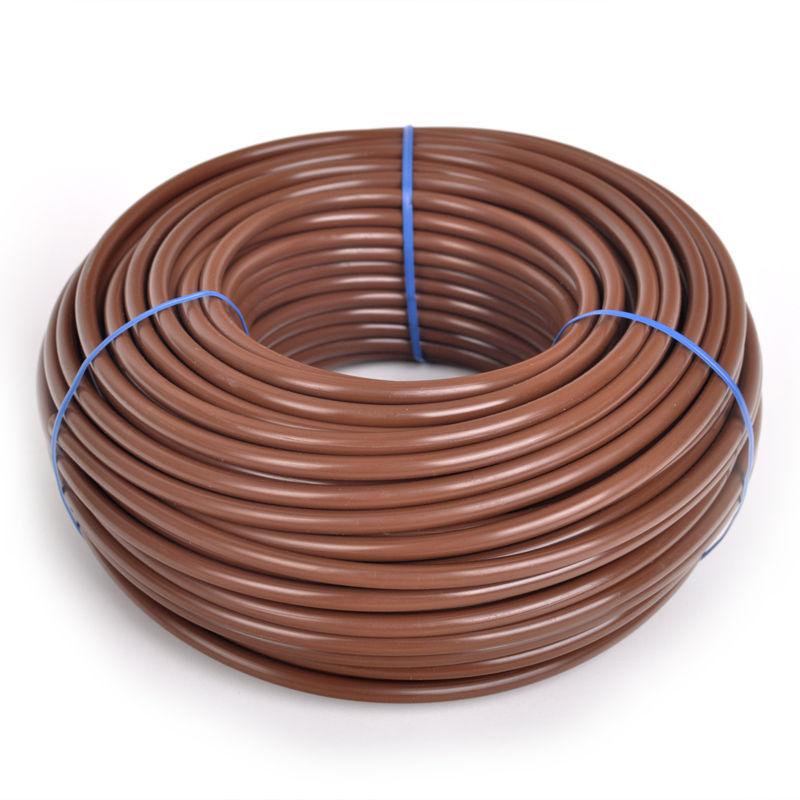 Микротрубка коричневая 6х4 (1 пог. метр)