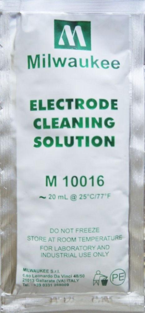 Моющий раствор для очистки электродов pH и ORP (ОВП) метров MILWAUKEE 20мл.