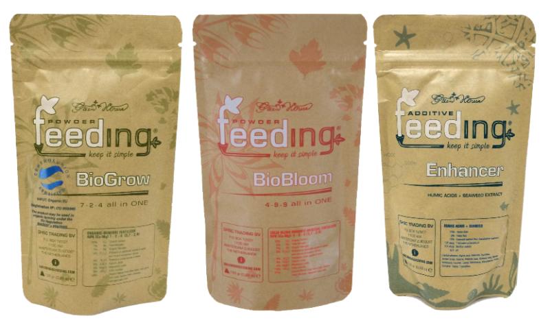 Набор сухих удобрений Powder Feeding BIO