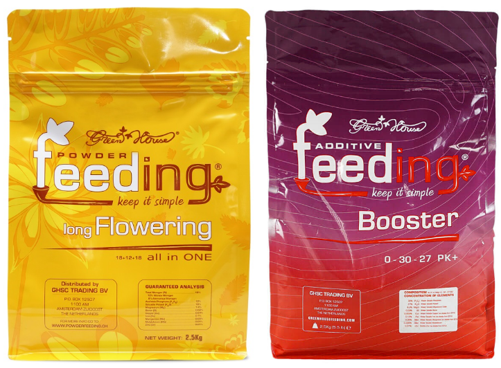 Набор сухих удобрений Powder Feeding Long Flowering