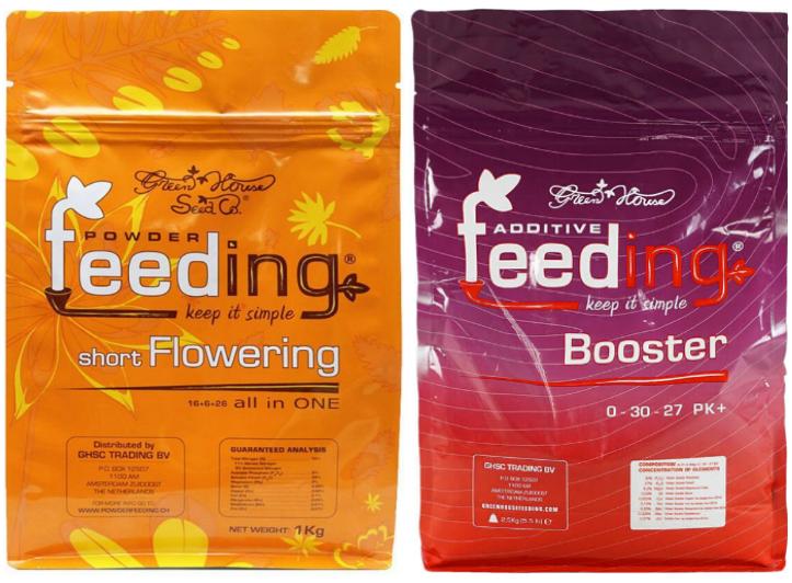 Набор сухих удобрений Powder Feeding Short Flowering