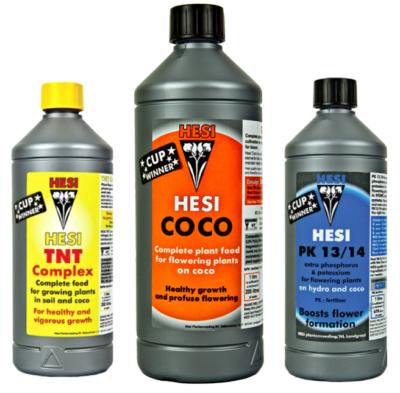 Набор удобрений Hesi COCO start (кокос)