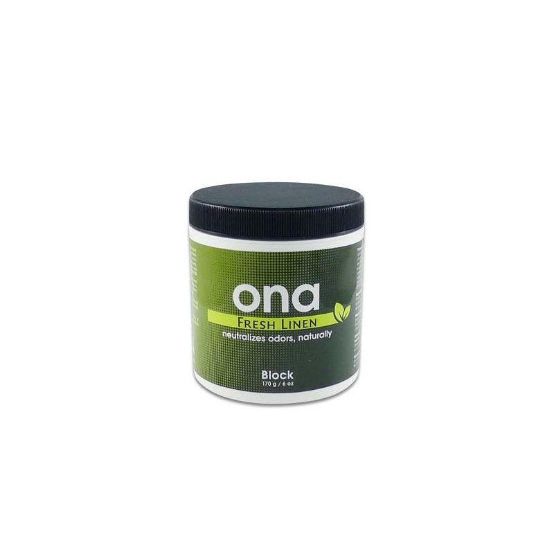Нейтрализатор запаха ONA Block Fresh Linen 170 гр