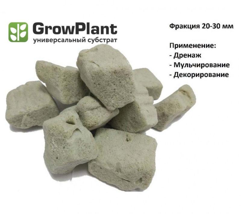 Пеностекло Growplant (Фракция: 20-30 мм) 50 л