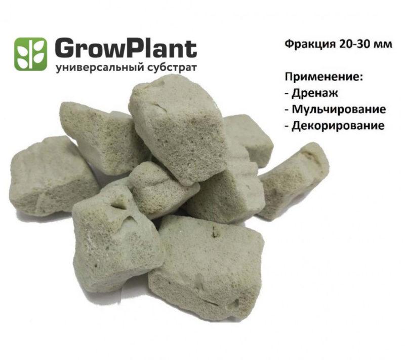 Пеностекольный субстрат GrowPlant (Фракция 20-30 мм) 11л
