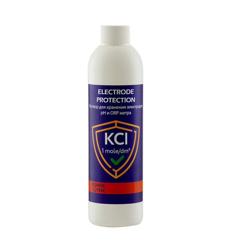 Раствор для хранения электродов pH и ORP метра 250 мл. (KCl 1 моль/дм3)