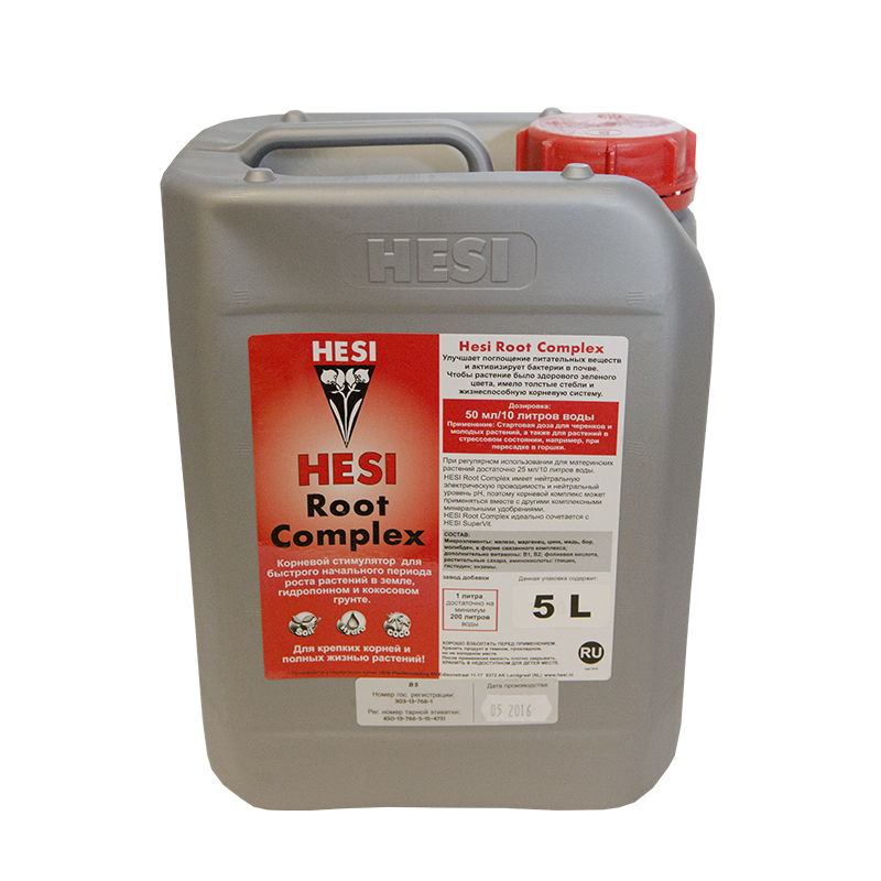 Стимулятор корнеобразования HESI Root Complex 5 L