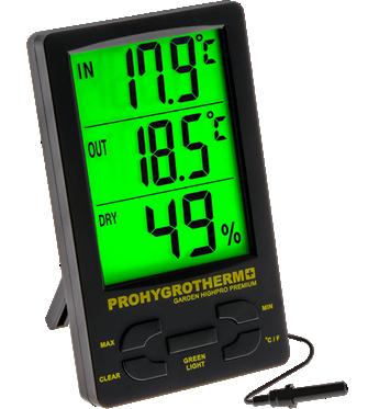 Термометр с гигрометром HYGROTHERMO PRO