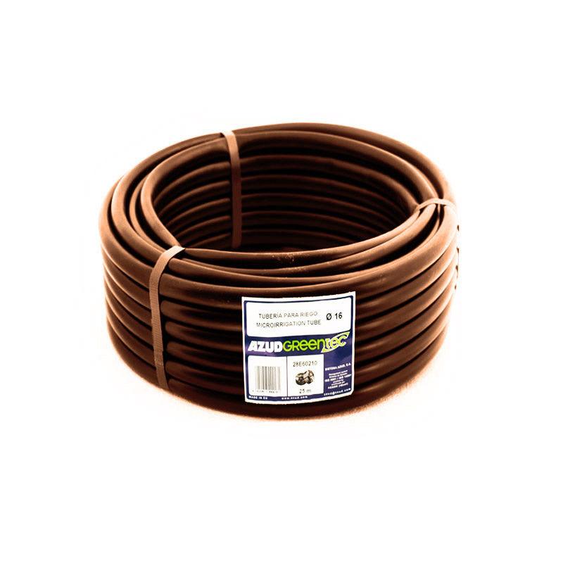 Труба коричневая 16 (1 пог. метр)