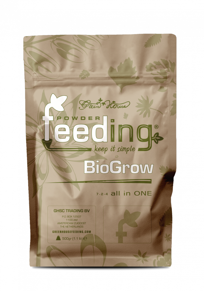 Удобрение Powder Feeding BIO Grow 0