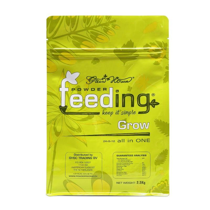 Удобрение Powder Feeding Grow 0