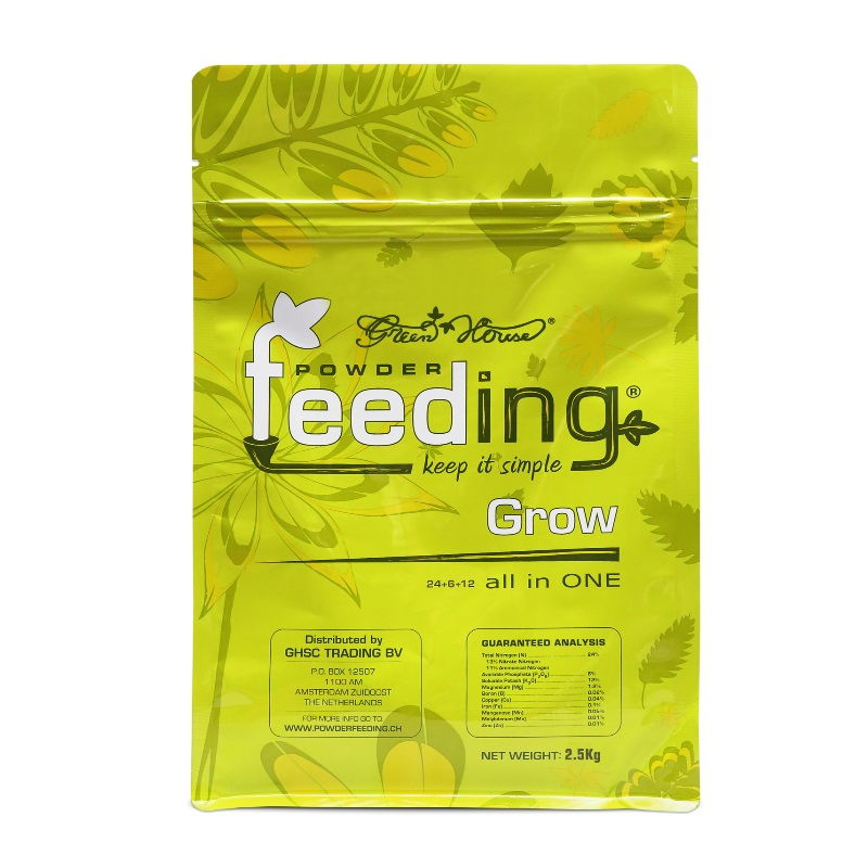Удобрение Powder Feeding Grow 2.5 kg