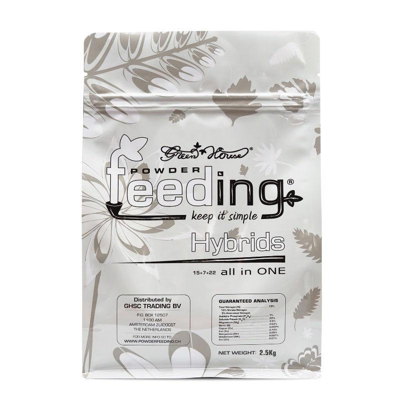 Удобрение Powder Feeding Hybrids 2.5 kg