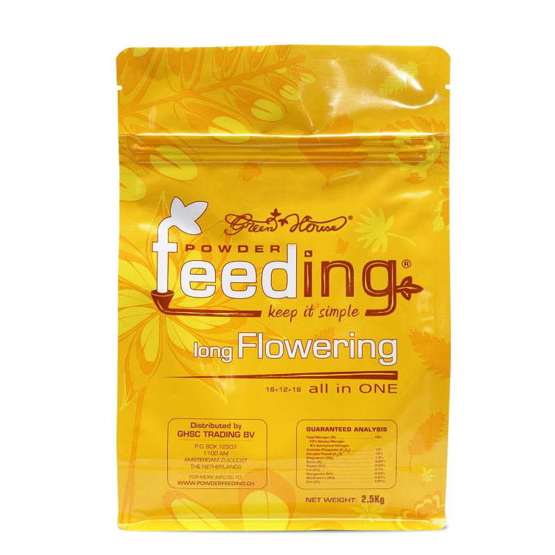 Удобрение Powder Feeding Long Flowering 2.5 kg