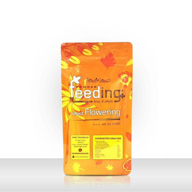 Удобрение Powder Feeding Short Flowering 0.125 kg