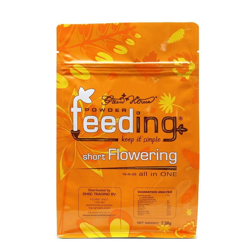 Удобрение Powder Feeding Short Flowering 2.5 kg